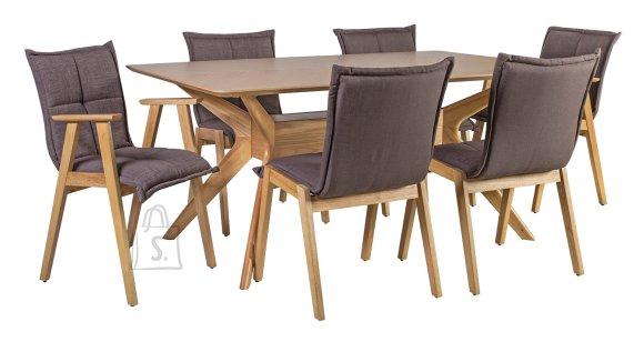 Söögilauakomplekt Razor 6-tooliga