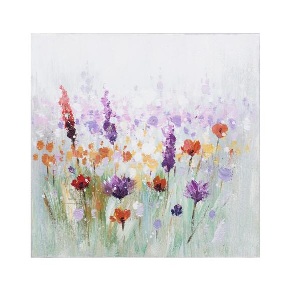 Õlimaal Lilled 30x30 cm