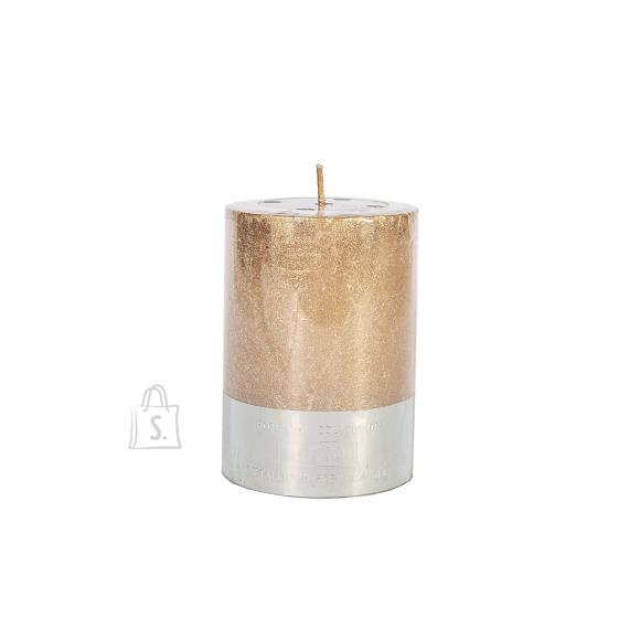 Küünal LUXO, D6.8xH9.5cm, vask metallik