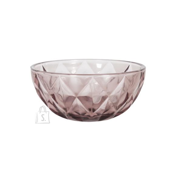 Klaaskauss CORAL, D12cm, lilla