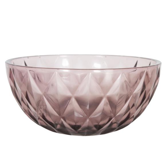 Klaaskauss CORAL, D22cm, lilla