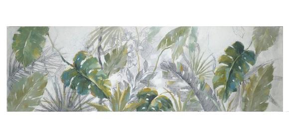 Õlimaal linnud/taimed 50x150cm