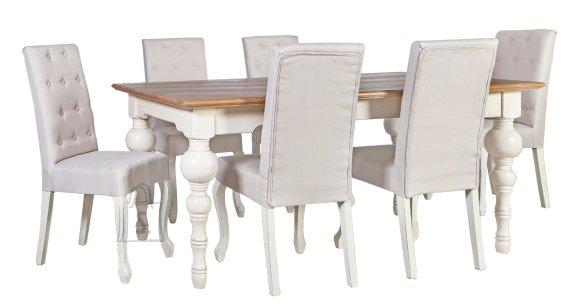 Söögilauakomplekt Samira Wat 6-tooliga