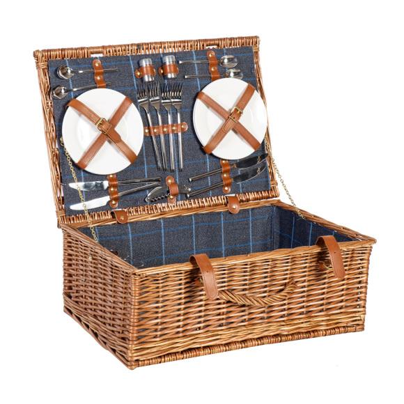 Piknikukohver Apollo Lux  4-le