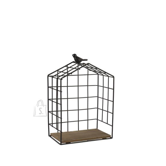 Riiul BIRD CAGE-3, S must metall/ puit