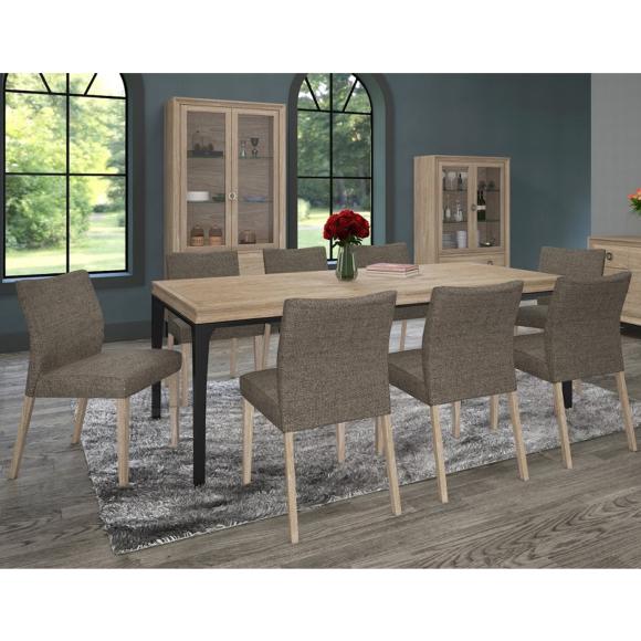 Söögilauakomplekt Aspen  laud ja 6-tooli
