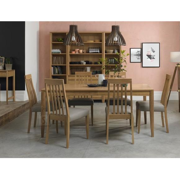 Söögilauakomplekt Bergen 6-tooliga