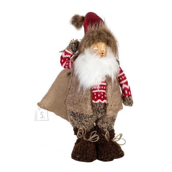 Jõuludekoratsioon Jõuluvana kotiga
