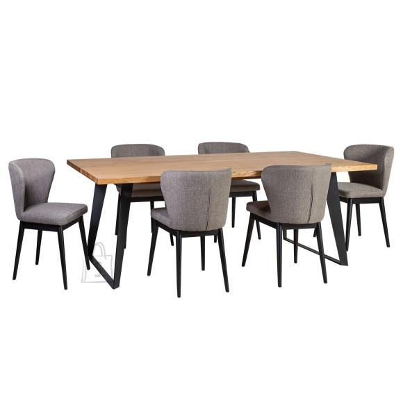 Söögilauakomplekt Lisbon laud + 6-tooli