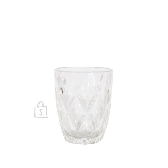 Joogiklaas madal CORAL 250ml, läbipaist