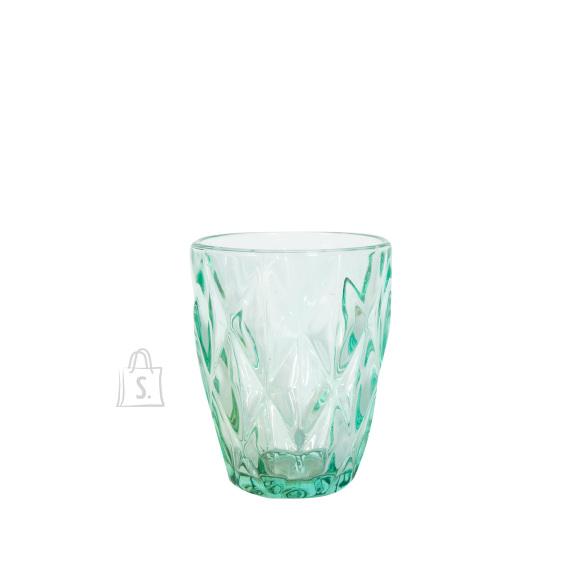 Joogiklaas madal CORAL 250ml, türkiis