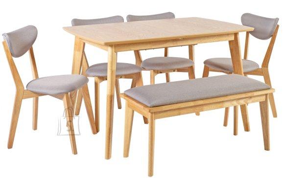 Söögilauakomplekt Jonna laud+ 4-tooli ja pink