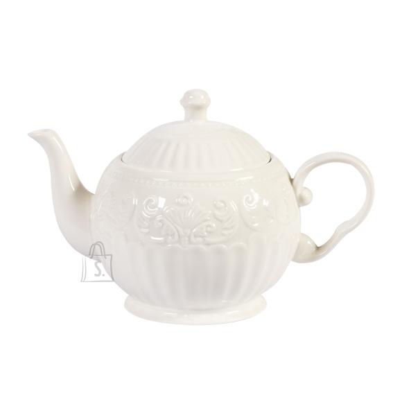 Teekann SOFIA, 600ml, valge