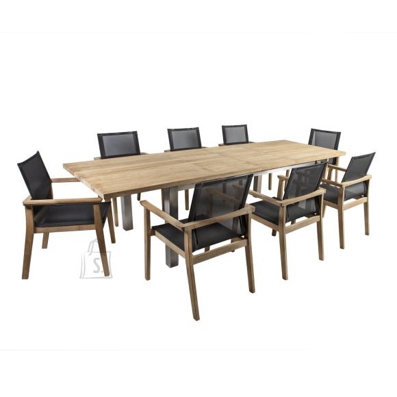 Komplekt NAUTICA laud ja 8 tooli 13259