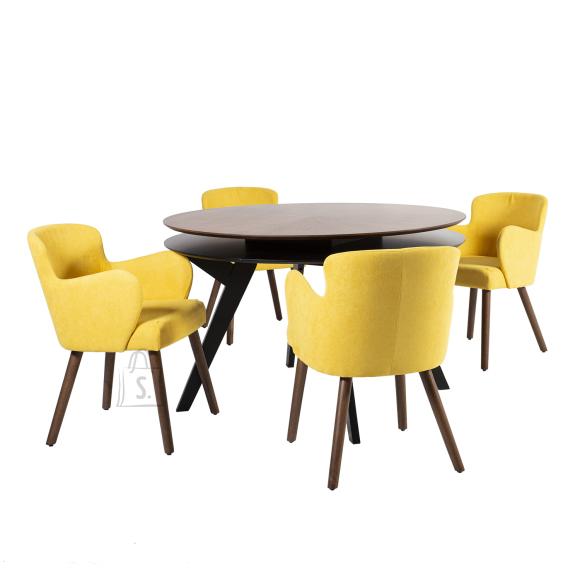Söögilauakomplekt Eleanor 4-tooliga