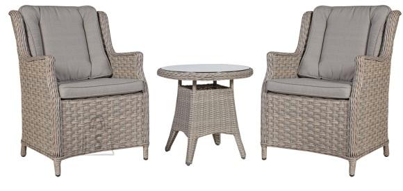 Aiamööbel  Pacific laud ja 2 tooli