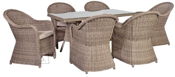Aiamööbel Toscana laud ja 6 tooli