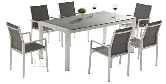 Aiamööbel Cedric laud ja 6 tooli