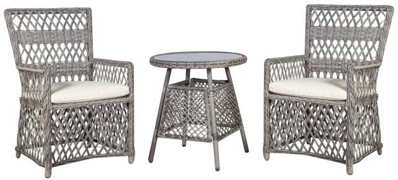 Aiamööbel Marbella laud ja 2 tooli