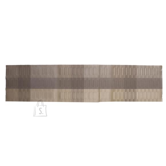 Laualinik TEXTILINE, 30x135cm, helepruun