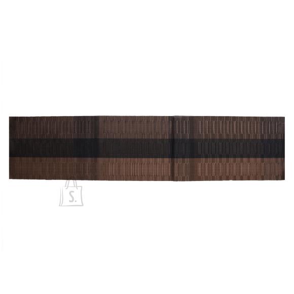 Laualinik TEXTILINE, 30x135cm, tumepruun