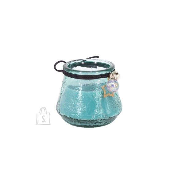 Klaasküünal VENEETSIA, H6.8cm, sinine