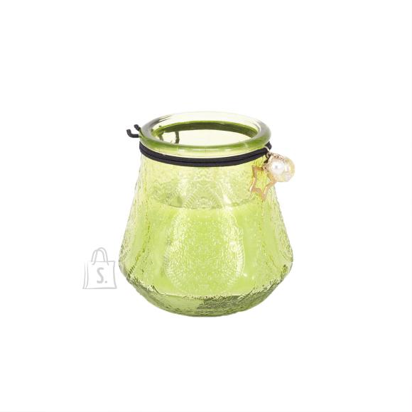 Klaasküünal VENEETSIA XL, H9.5cm, rohel.