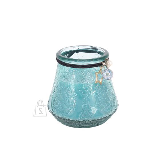 Klaasküünal VENEETSIA XL, H9.5cm, sinine