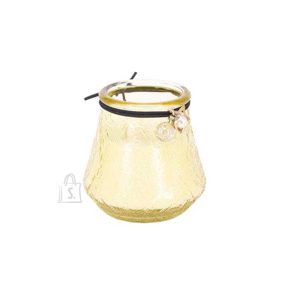 Klaasküünal VENEETSIA XL, H9.5cm, valge