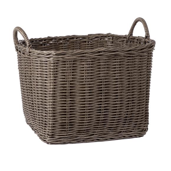 Korv RUBY-1, 50x50xH36cm, pruunikashall