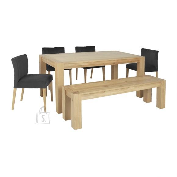 Söögilauakomplekt TURIN 4-tooli + pink
