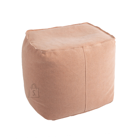 Tumba JUTE 55x55xH45cm, vanaroosa