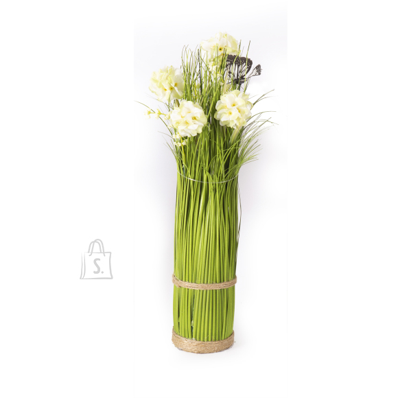 Rohukõrred lilledega IN GARDEN, valge