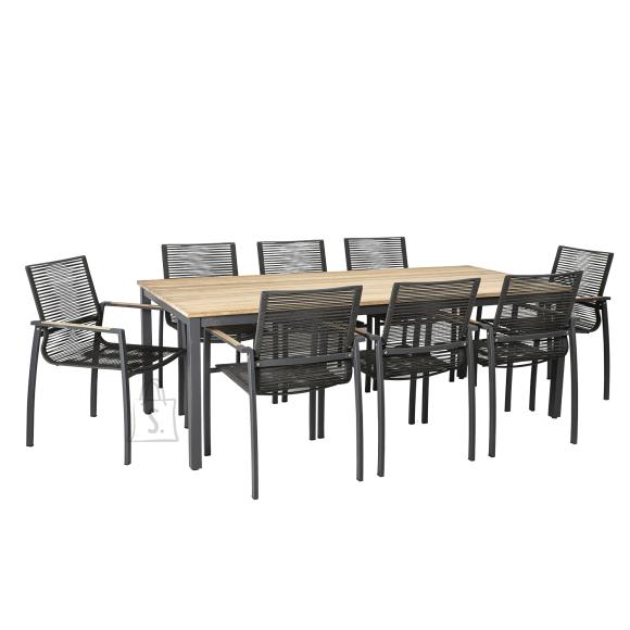 Komplekt MONTANA laud ja 8 tooli (13269)