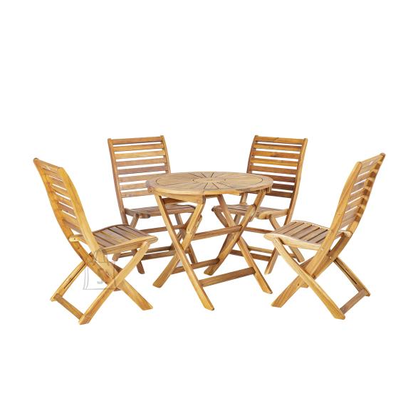 Komplekt CHERRY laud ja 4 tooli (13325)