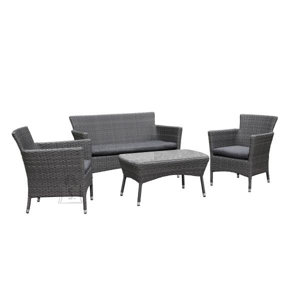 Garden4you Komplekt WATERS laud, diivan ja 2 tooli