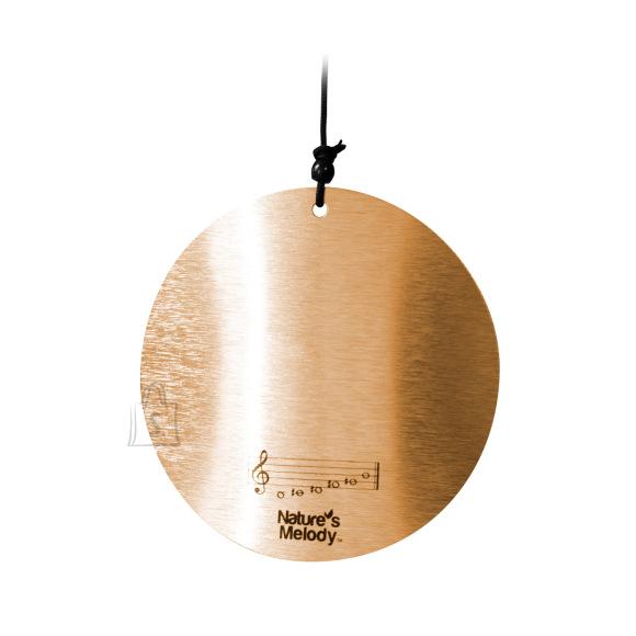 Tuulekell NATURE'S MELODY, H80cm, kuld