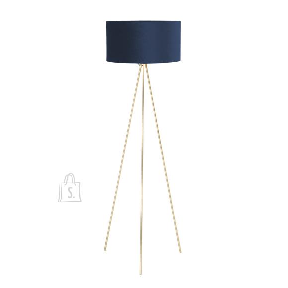 Põrandalamp TRINITY H151cm, sinine/kuld
