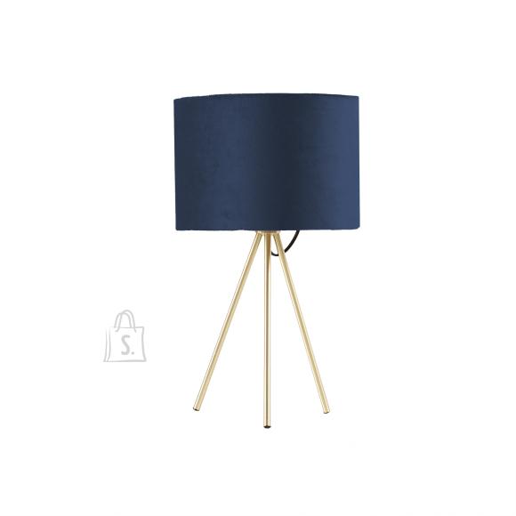 Laualamp TRINITY H42cm, sinine/kuldne
