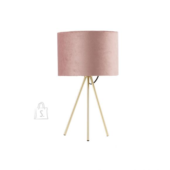 Laualamp TRINITY H42cm, vanaroosa/kuldne