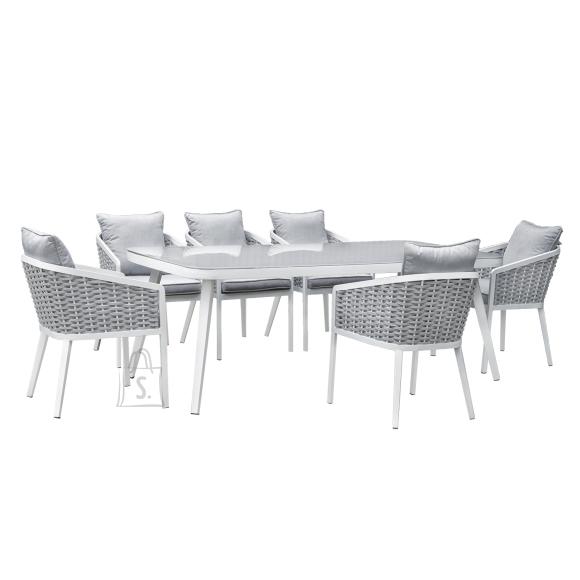 Komplekt MARIE laud ja 6 tooli (13690)
