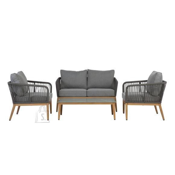 Garden4you Komplekt STRING laud, diivan ja 2 tooli