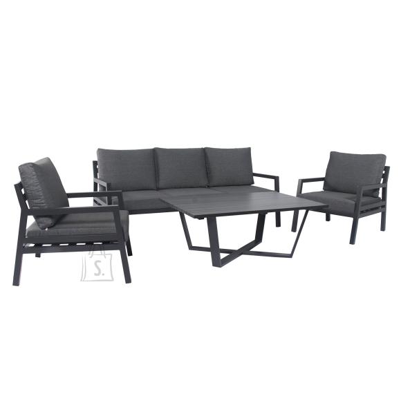 Garden4you Komplekt PHOENIX laud, diivan ja 2 tooli