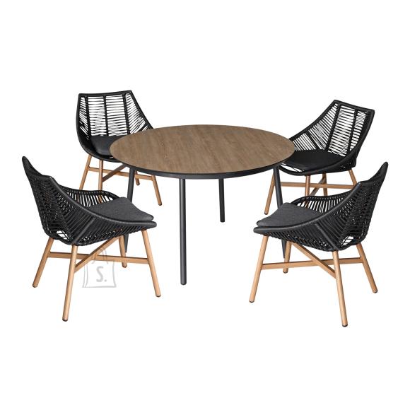 Komplekt HELSINKI laud ja 4 tooli 20532