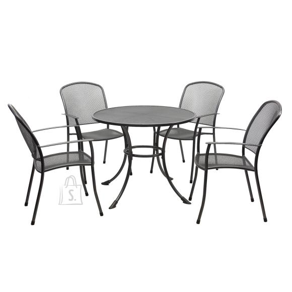 Komplekt NETY laud ja 4 tooli (41203)