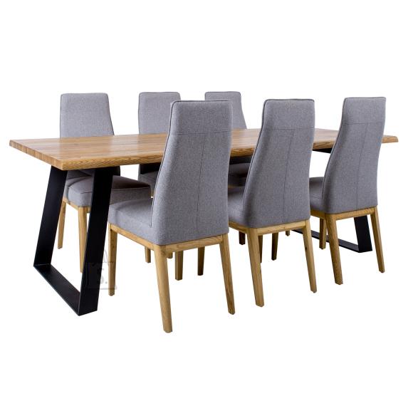 Söögilauakomplekt ROTTERDAM 6-tooliga 19