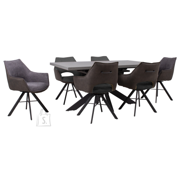 Söögilauakomplekt EDDY 6-tooliga 24503