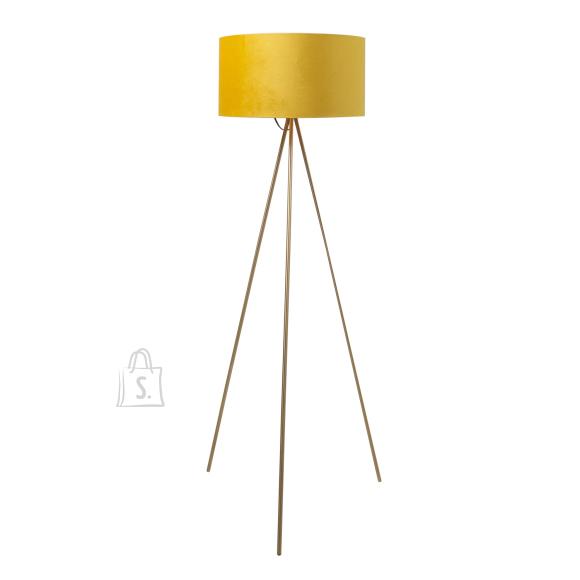 Põrandalamp TRINITY H151cm, kollane