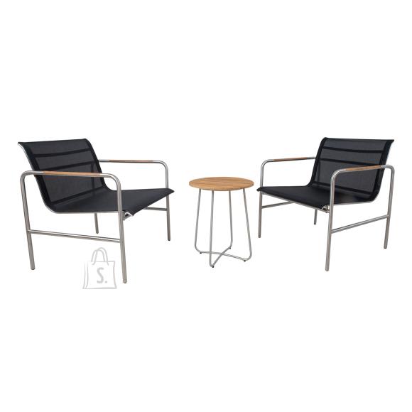 Rõdukomplekt TELA laud ja 2 tooli