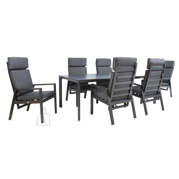 Komplekt TOMSON laud ja 6 tooli